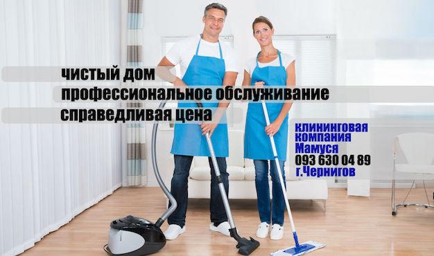 клининговая компания Мамуся Чернигов